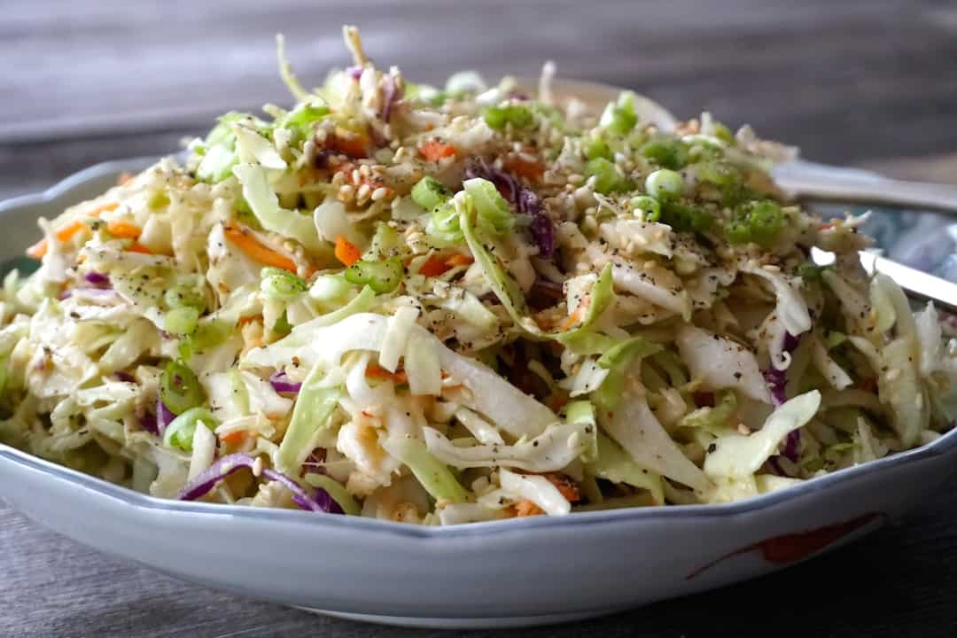 Easy Asian Slaw