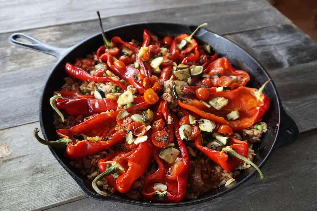 Chorizo Shepherd Pepper Skillet