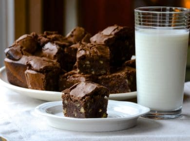 Easy Kid-Friendly Recipes like these Brownies