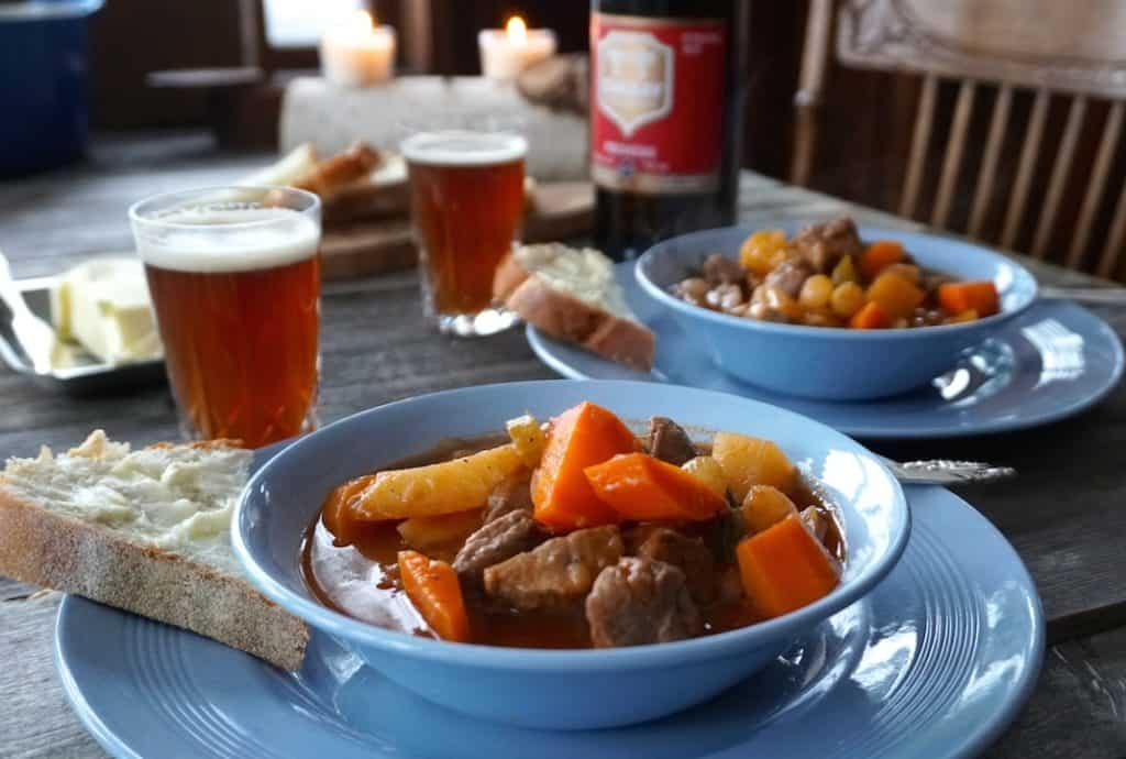 A hearty dinner of Easy Lamb Stew Recipe