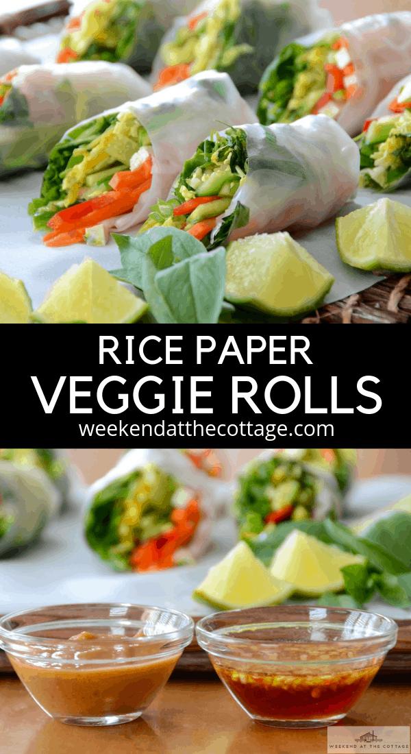 Vegetable Salad Rolls