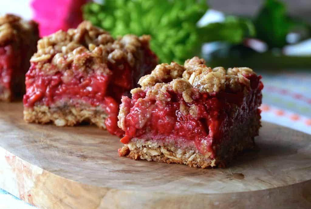 Individeual Berry Pecan Crumble Bars