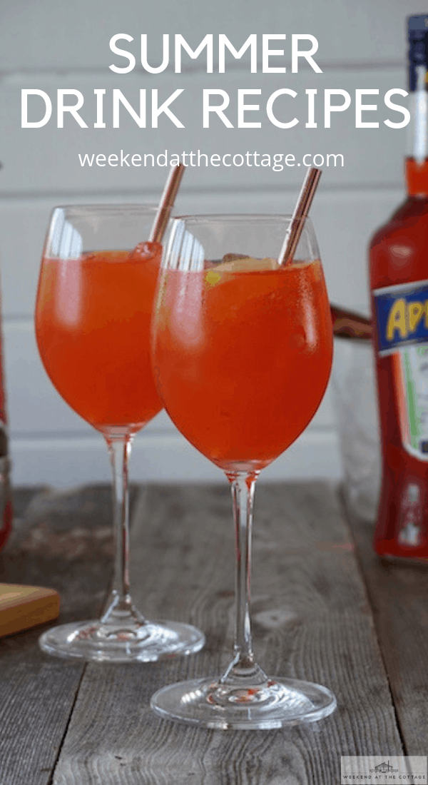 Pin for Summer Drink Recipes