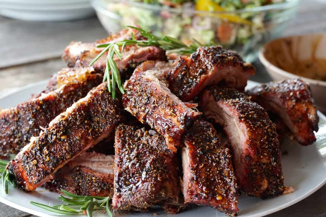 Tuscan Style Grilled Ribs