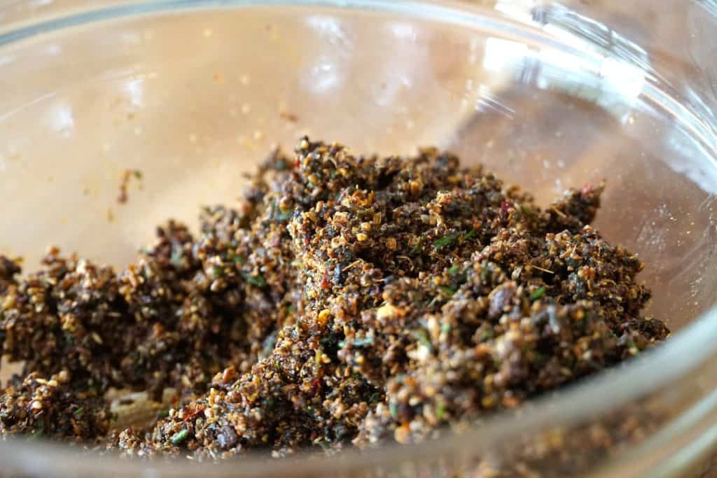 Here's the rub for the rib recipe