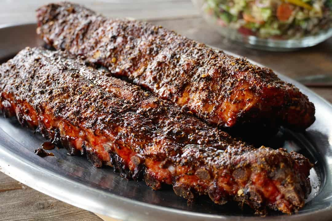Tuscan-Style Grilled Ribs