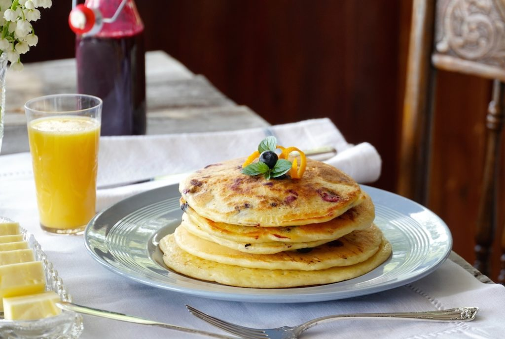 Enjoy these pancakes for breakfast
