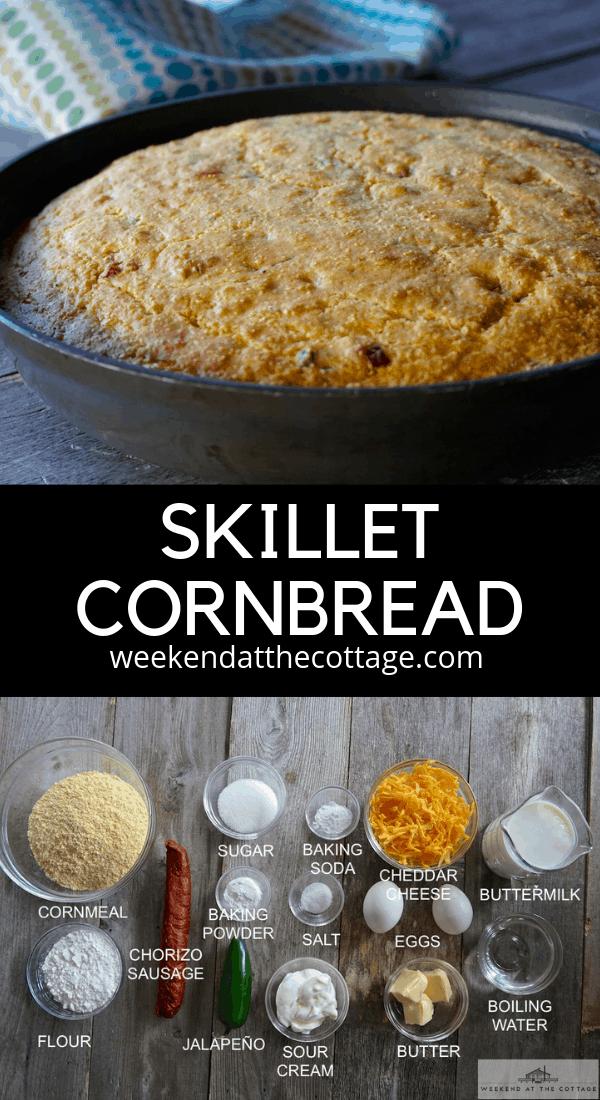 Skillet Cornbread Recipe