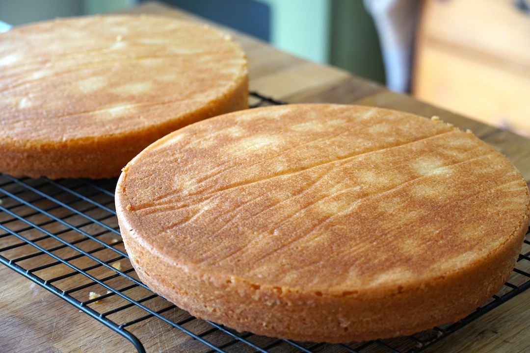 Mile-High Homemade Coconut Cake