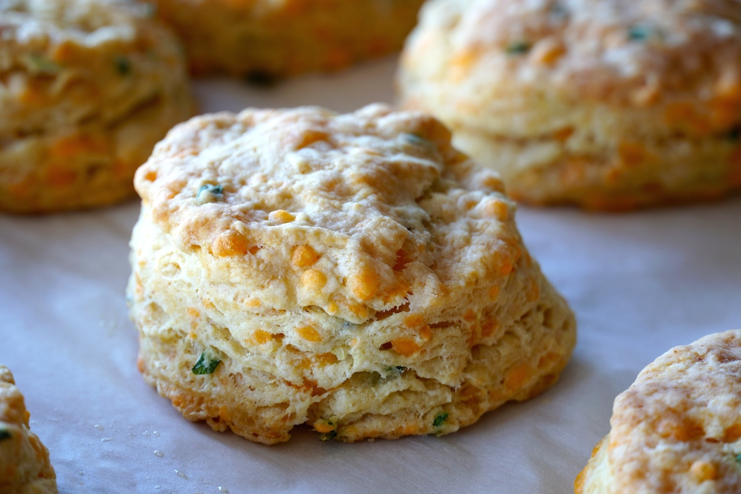 Easy Buttermilk Biscuits fresh out of the oven