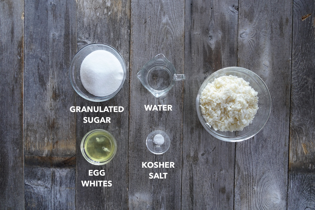 Ingredients for 7-minute frosting