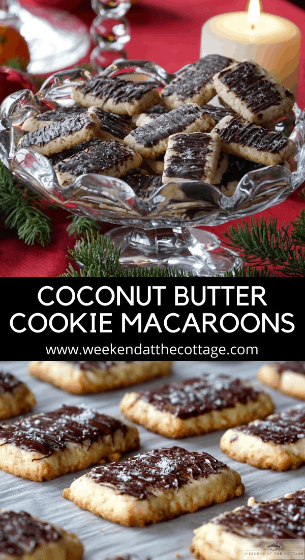 Coconut Butter Cookie Macaroons