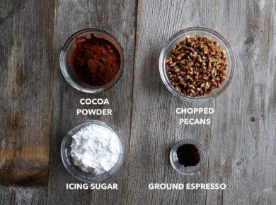 Chocolate Mocha Snowballs