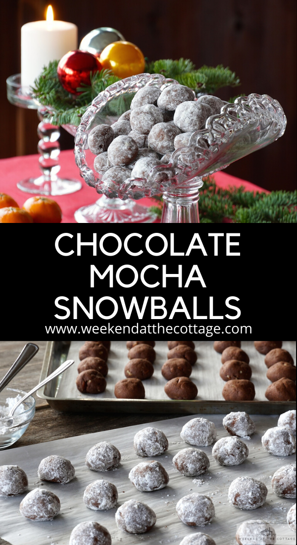 Chocolate Mocha Snowballs
