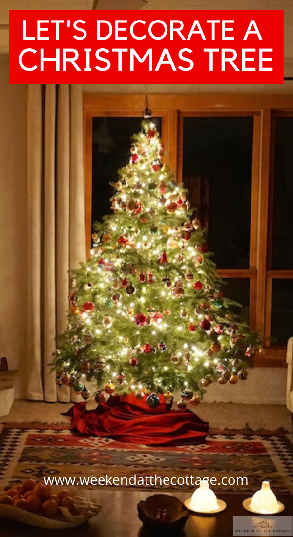 How To Decorate a Real Christmas Tree