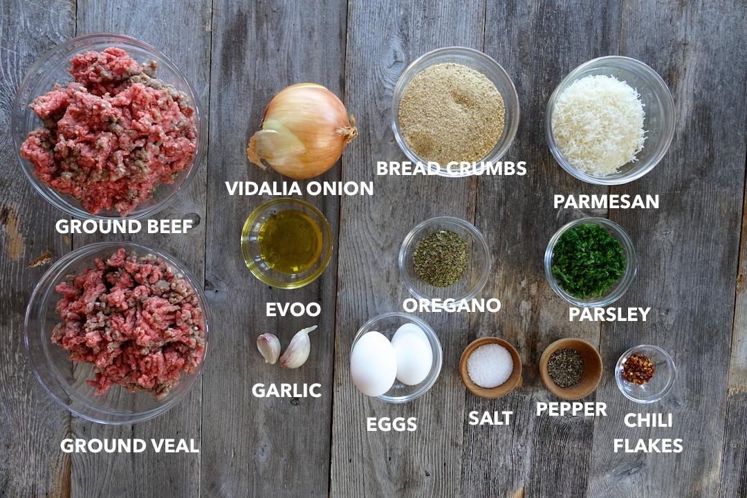 Meatballs in Marinara Sauce