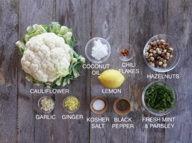Lemon Herb Cauliflower