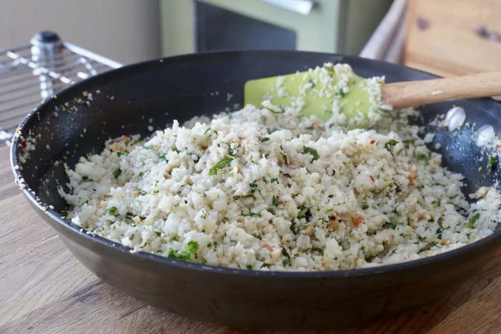 Healthy cauliflower side dish