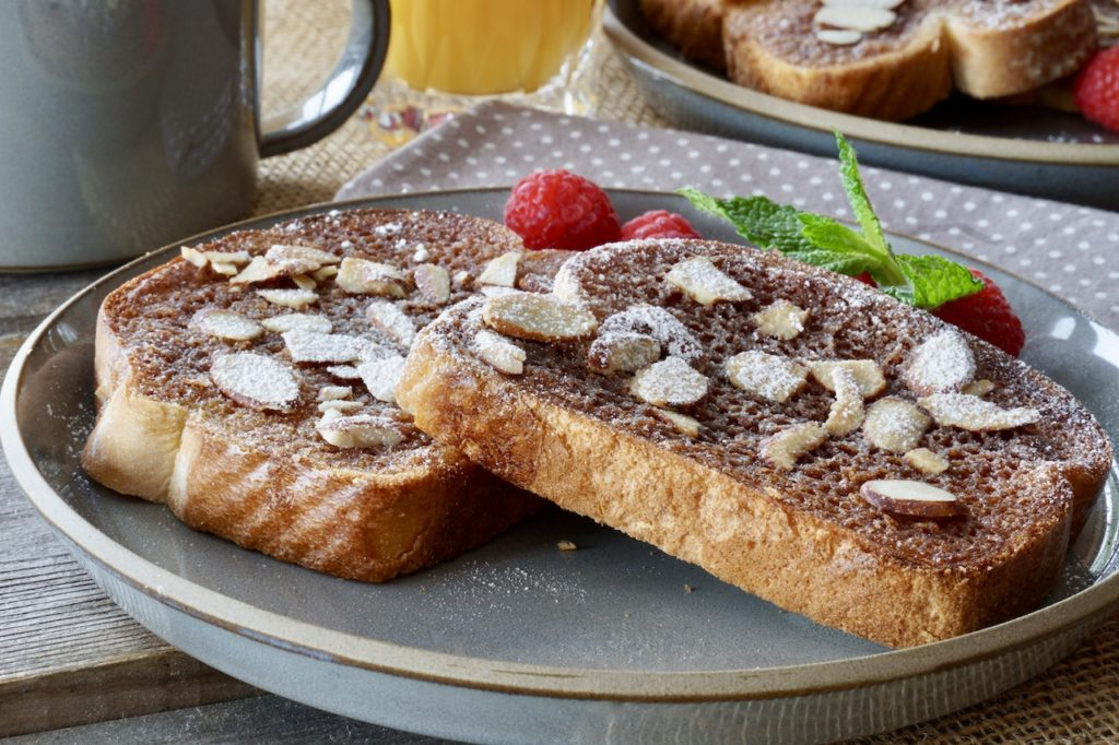 Close up of Easy Cinnamon Toast