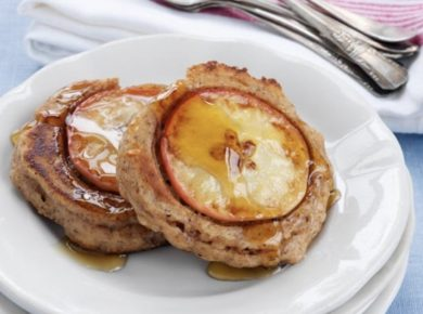 Apple-Walnut Pancakes