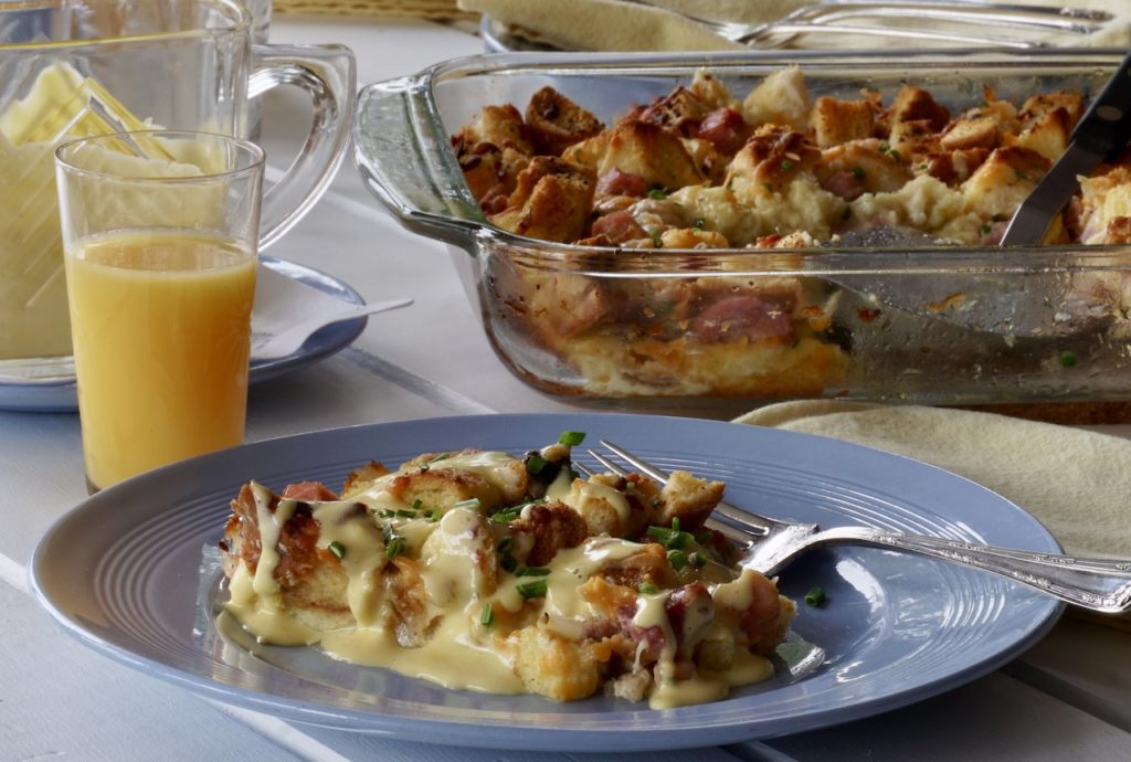 Serve generous portions of the breakfast bake