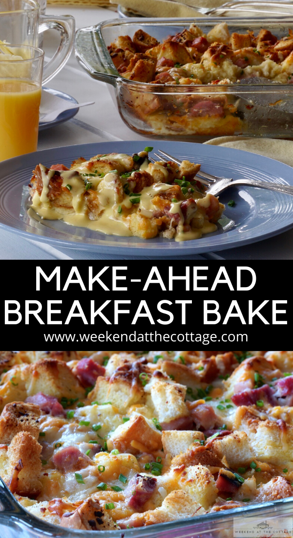 Make-ahead Breakfast Bake PIN