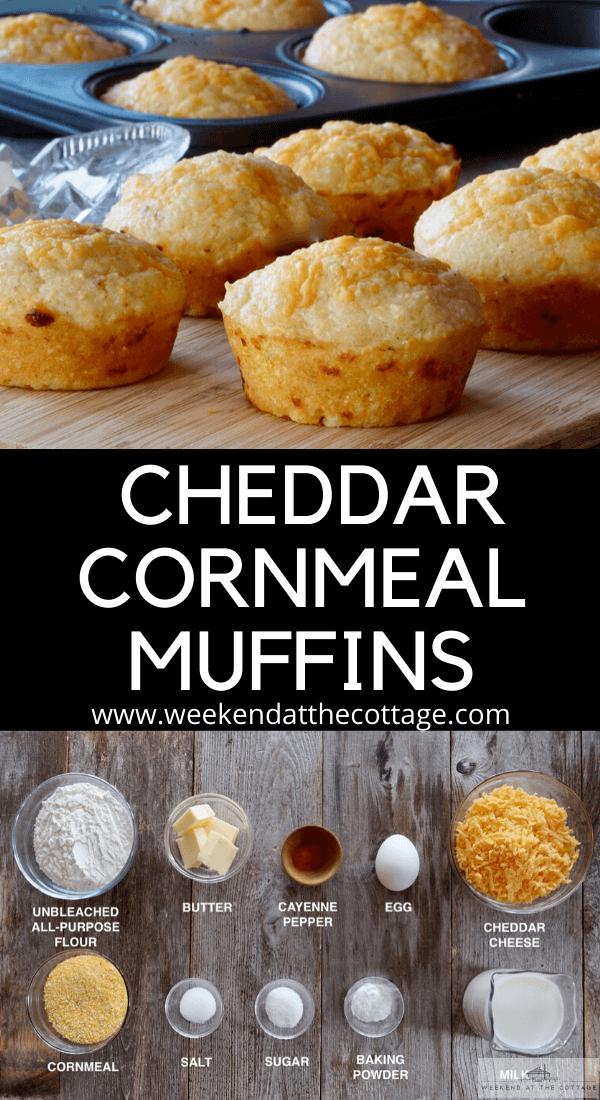 Cheddar Cornmeal Muffins