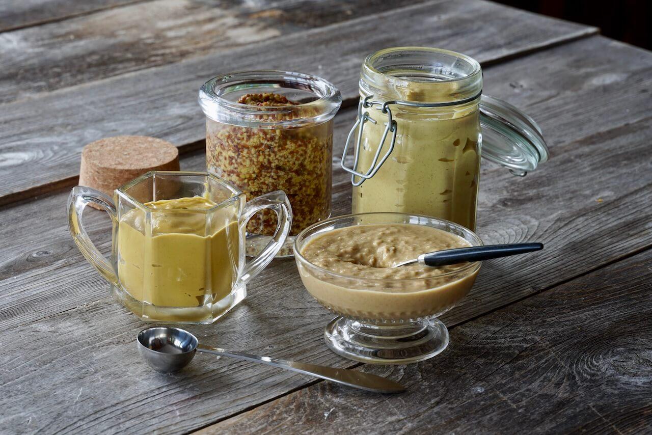 Assorted mustards
