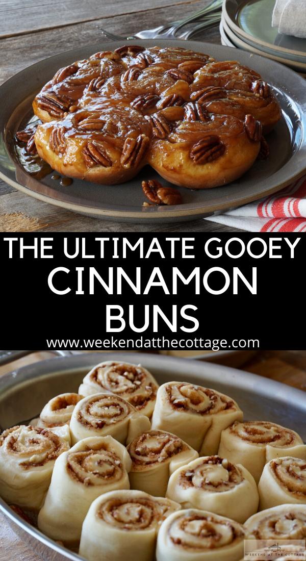 Ultimate Gooey Cinnamon Buns