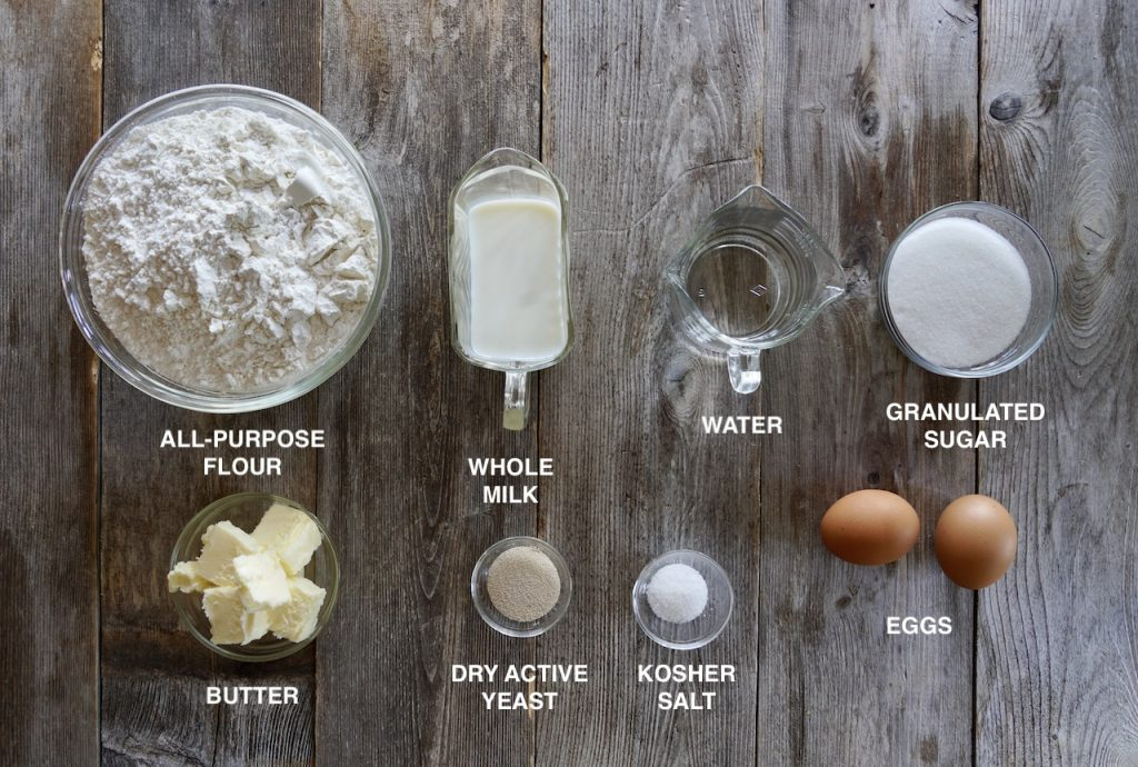 Ingredients for the Ultimate Gooey Cinnamon Buns