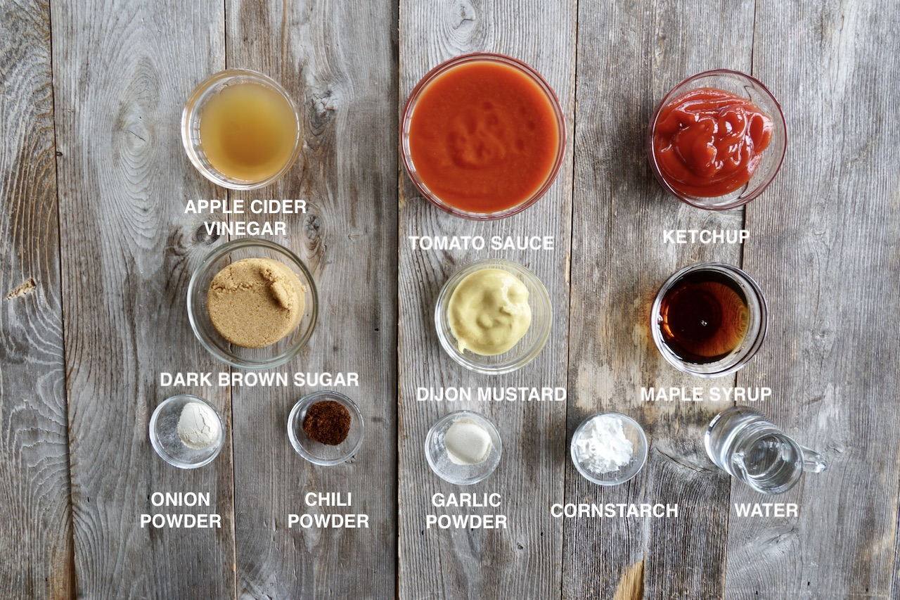 Ingredients for Homemade Barbecue Sauce