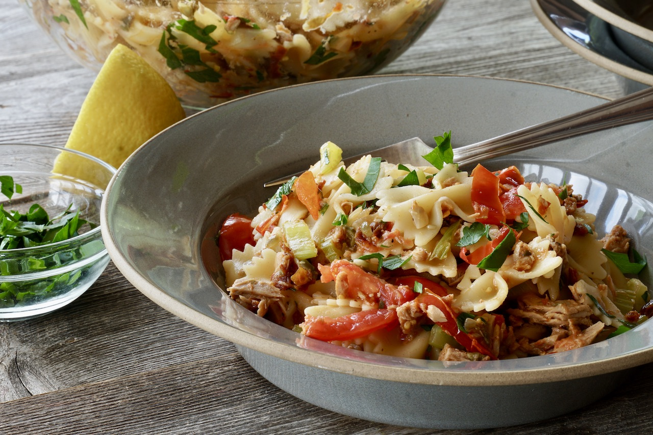 Bow-tie Pasta With Tuna