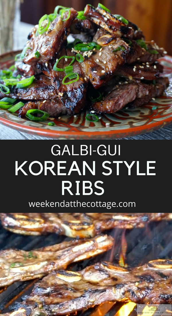 Grilled Korean Short Ribs