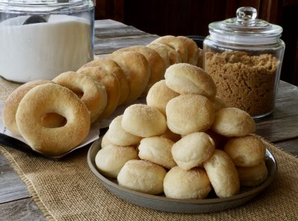 Baked Cinnamon Sugar Donuts & Donut Holes