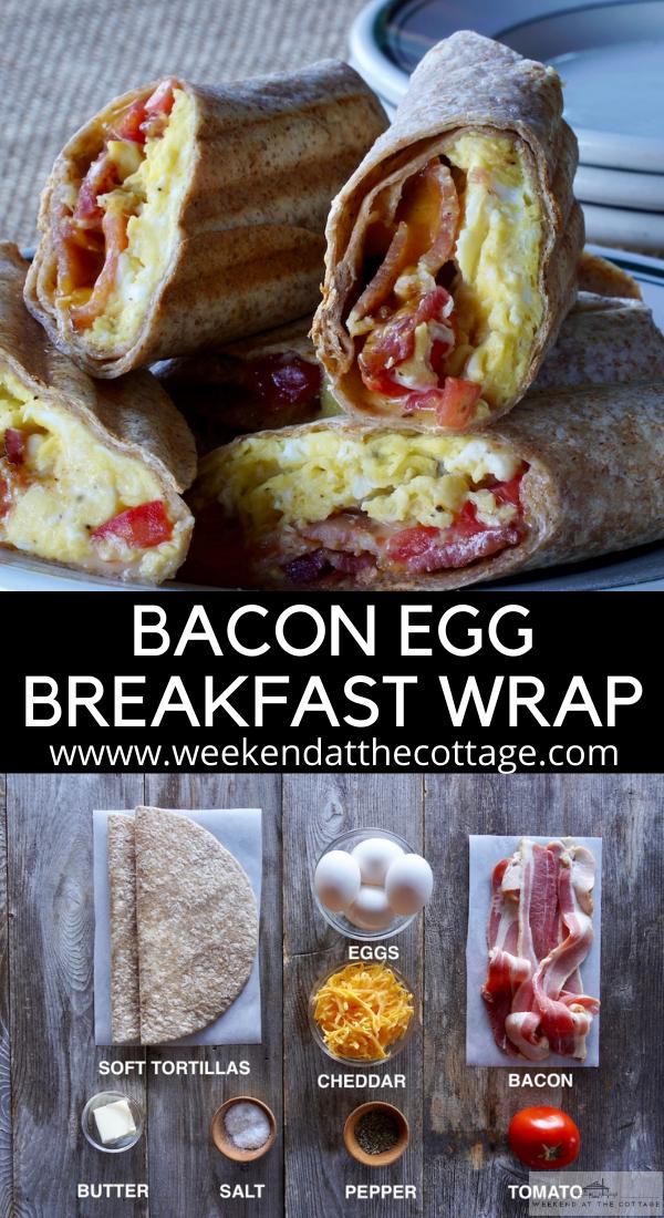 Bacon Egg Breakfast Wrap