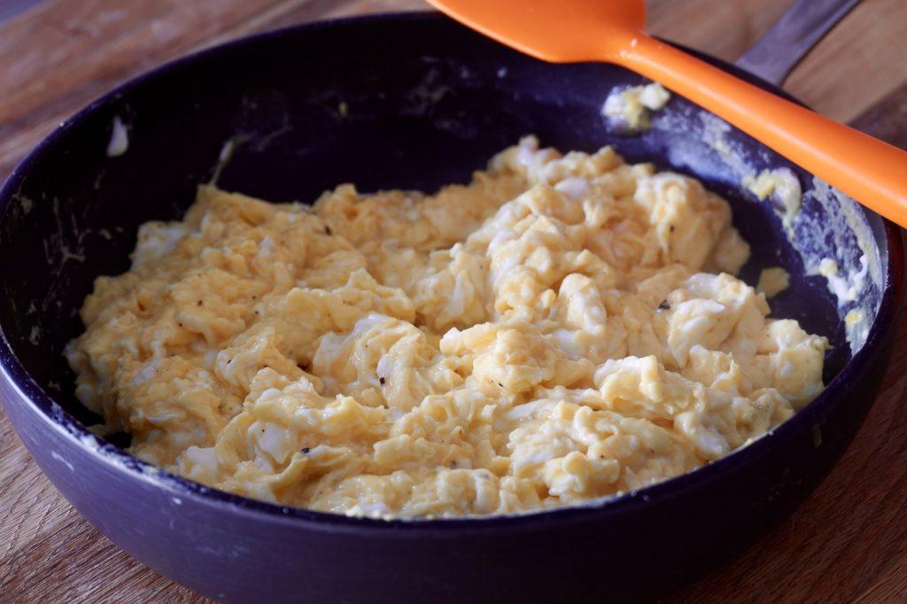 Soft scrambled eggs