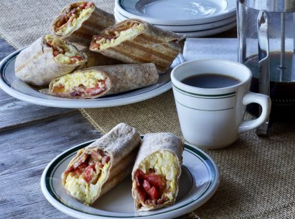 Bacon Egg Breakfast Wrap