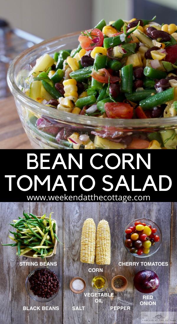 Bean, Corn & Tomato Salad