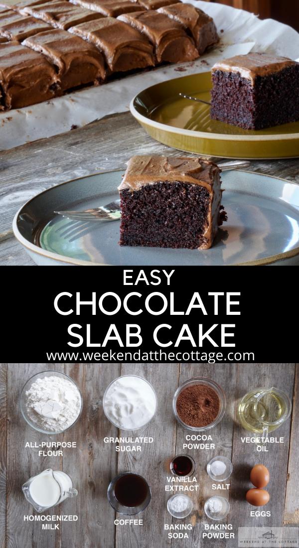 Easy Chocolate Slab Recipe