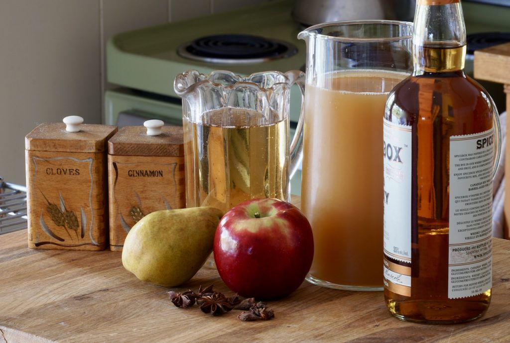 Ingredients for Fall Punch Recipe