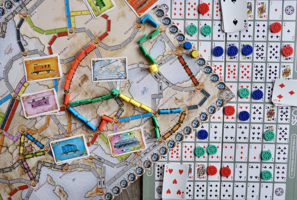 Ticket To Ride and Sequence