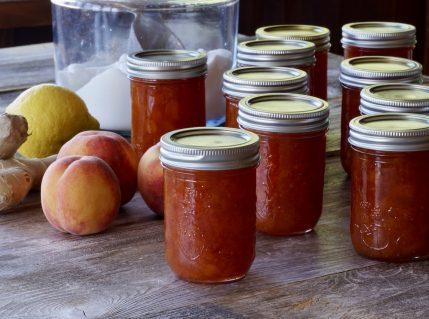 Peach-Ginger Jam