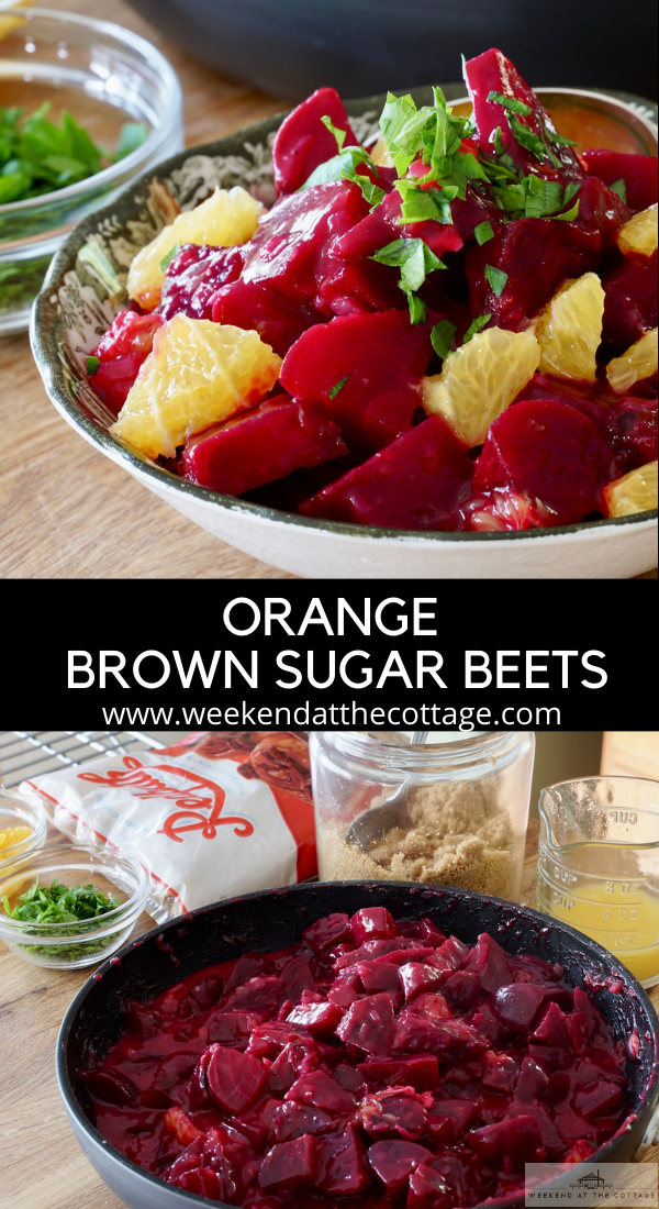 Orange and Brown Sugar-Glazed Beets
