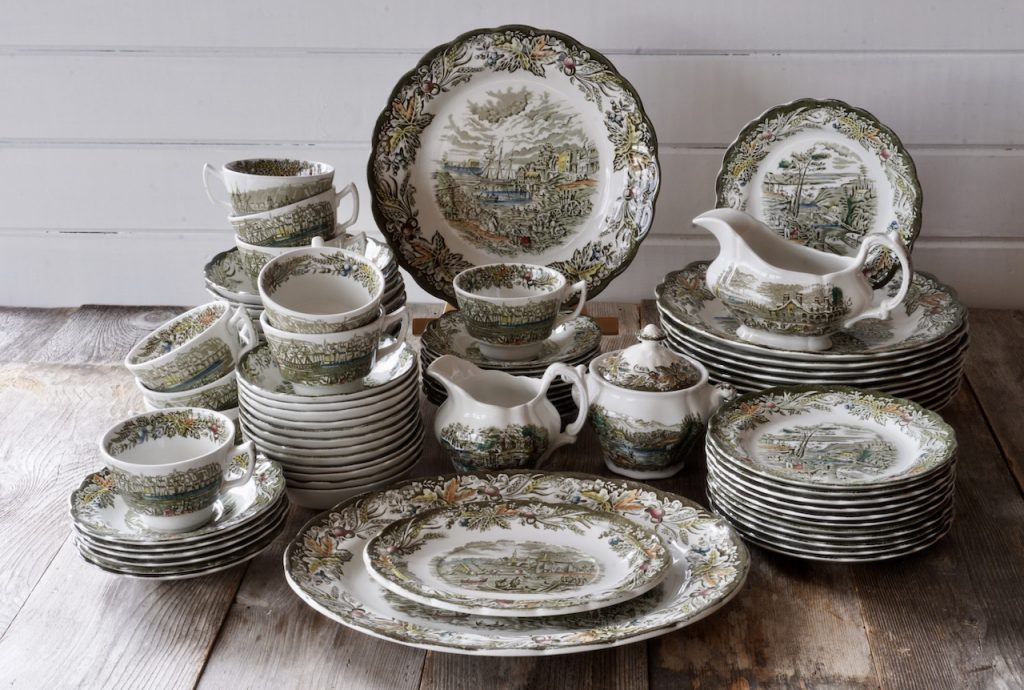 Heritage china by Ridgway for the Fall Holiday Table