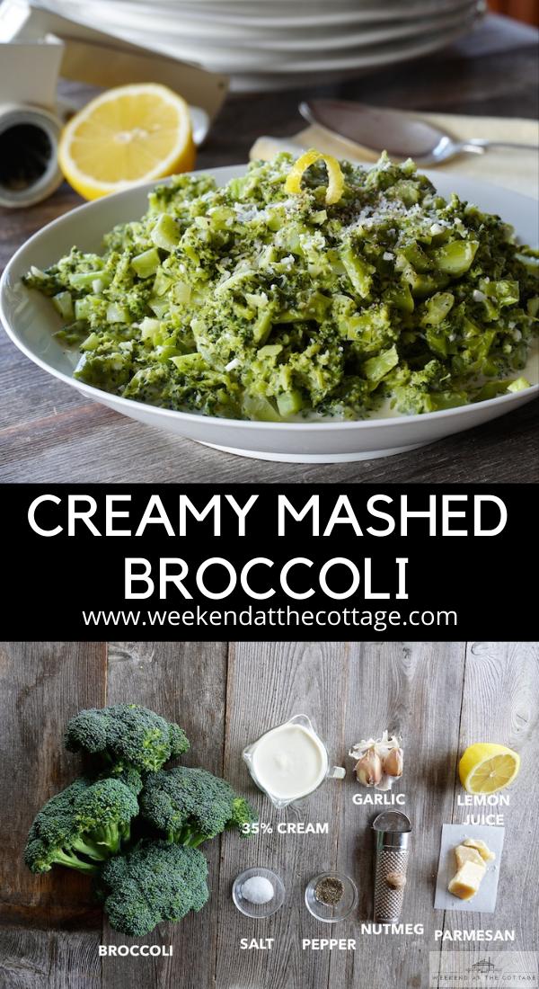 Creamy Mashed Broccoli