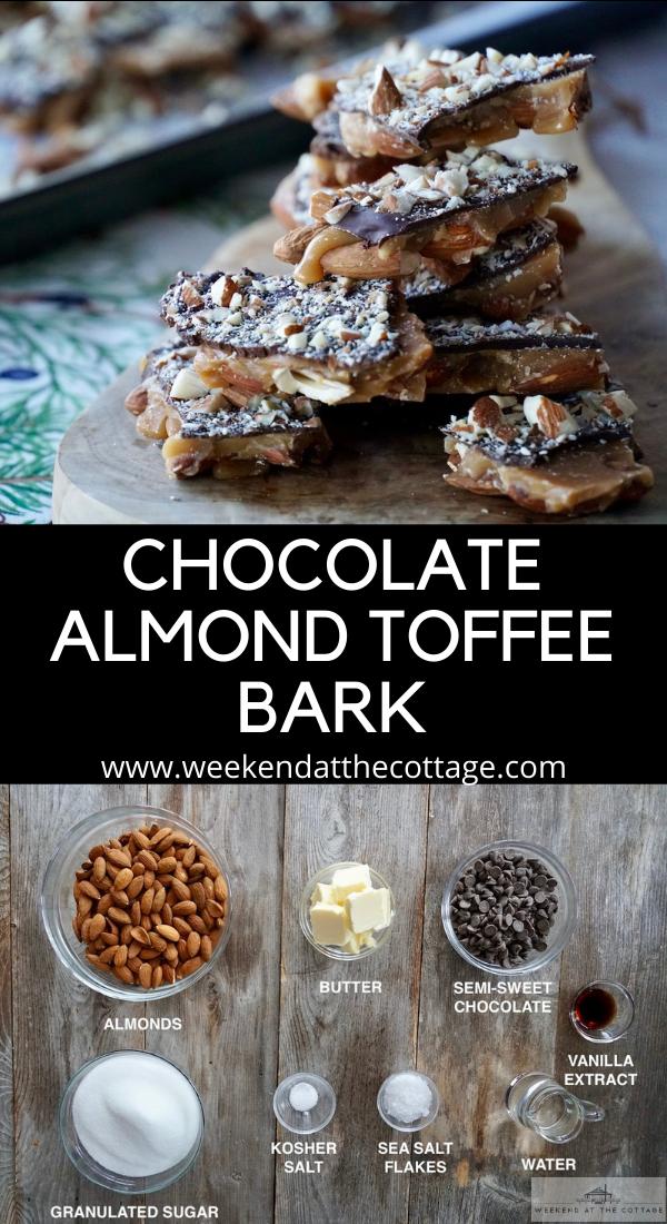 Chocolate-Almond Toffee Bark