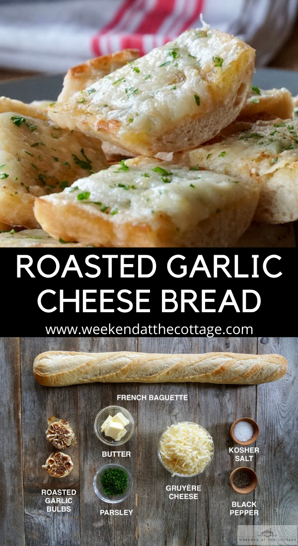 Roasted Garlic Cheese Bread