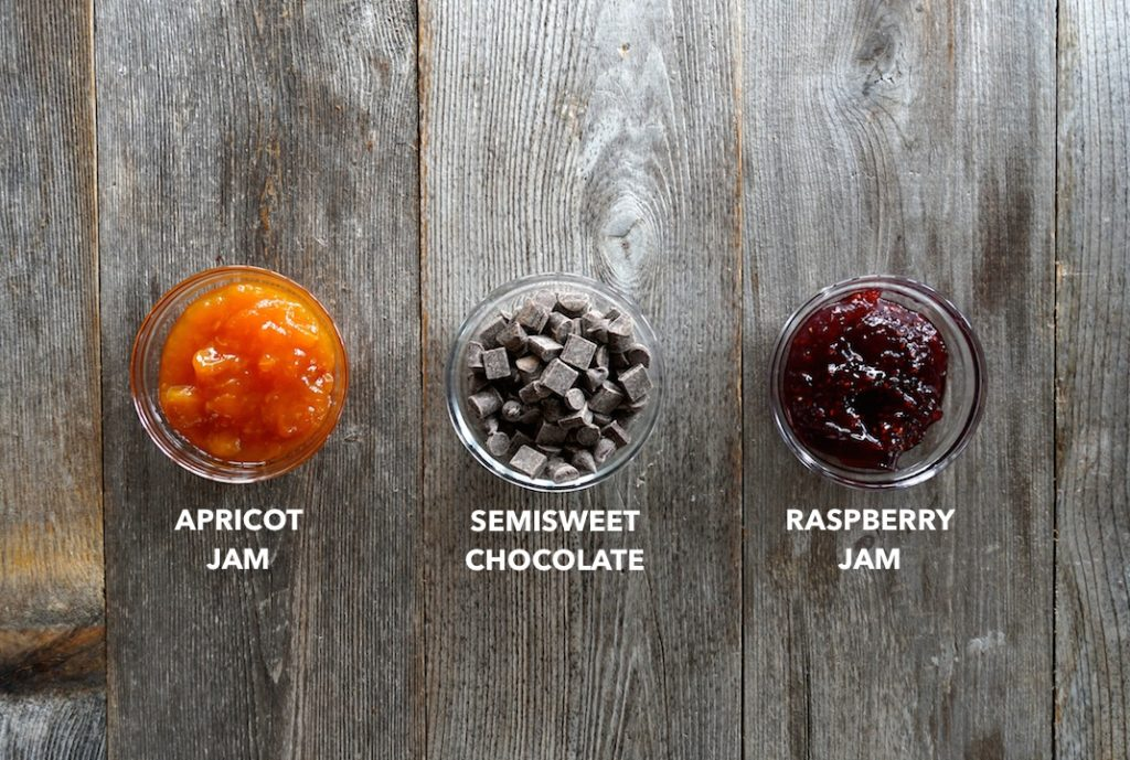 Toppings for thumbprint cookies