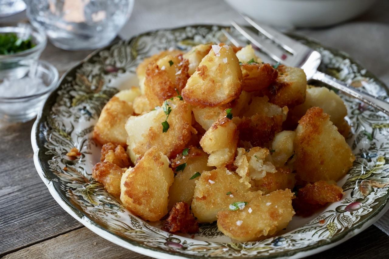 Goose Fat-Roasted Potatoes
