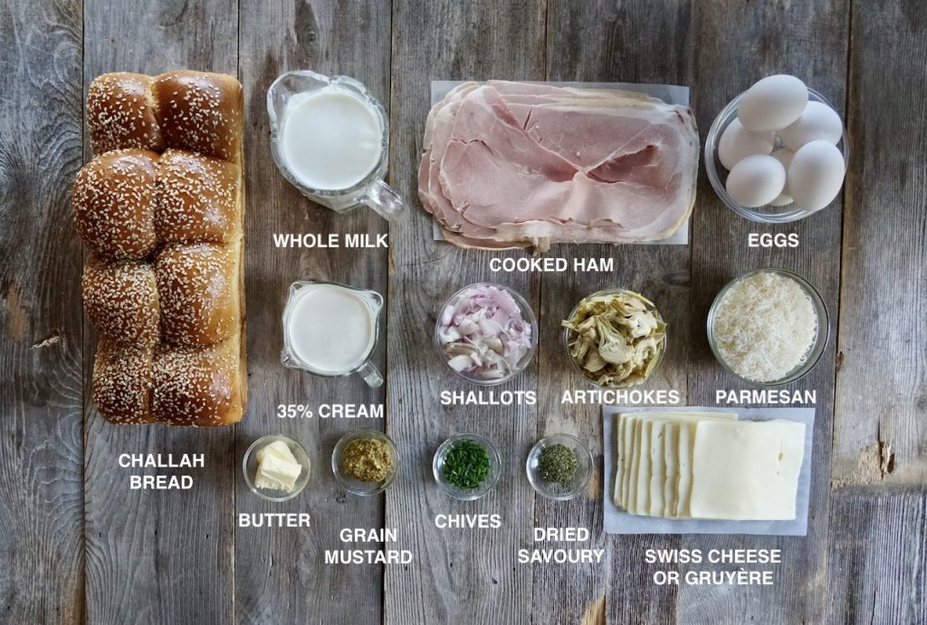 Ingredients for the Ultimate Breakfast Casserole